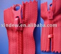 No.5 Polyester Tape Close End Nylon Zipper