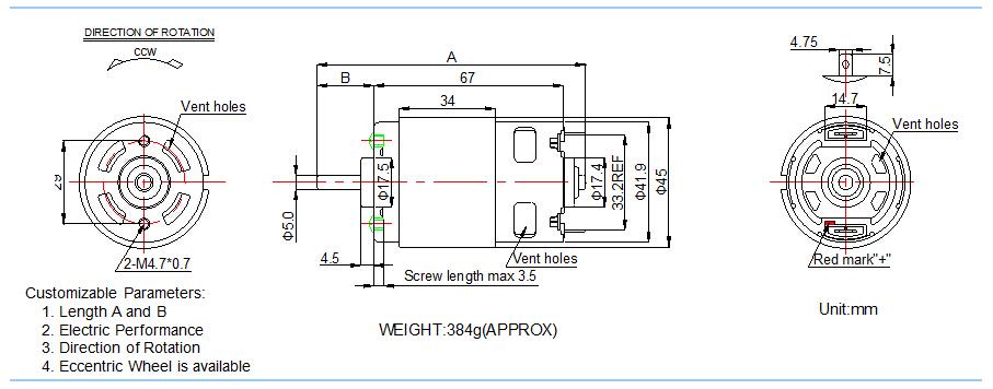 12v Dc Motor Specifications Funtain Motor Buy 12v Dc