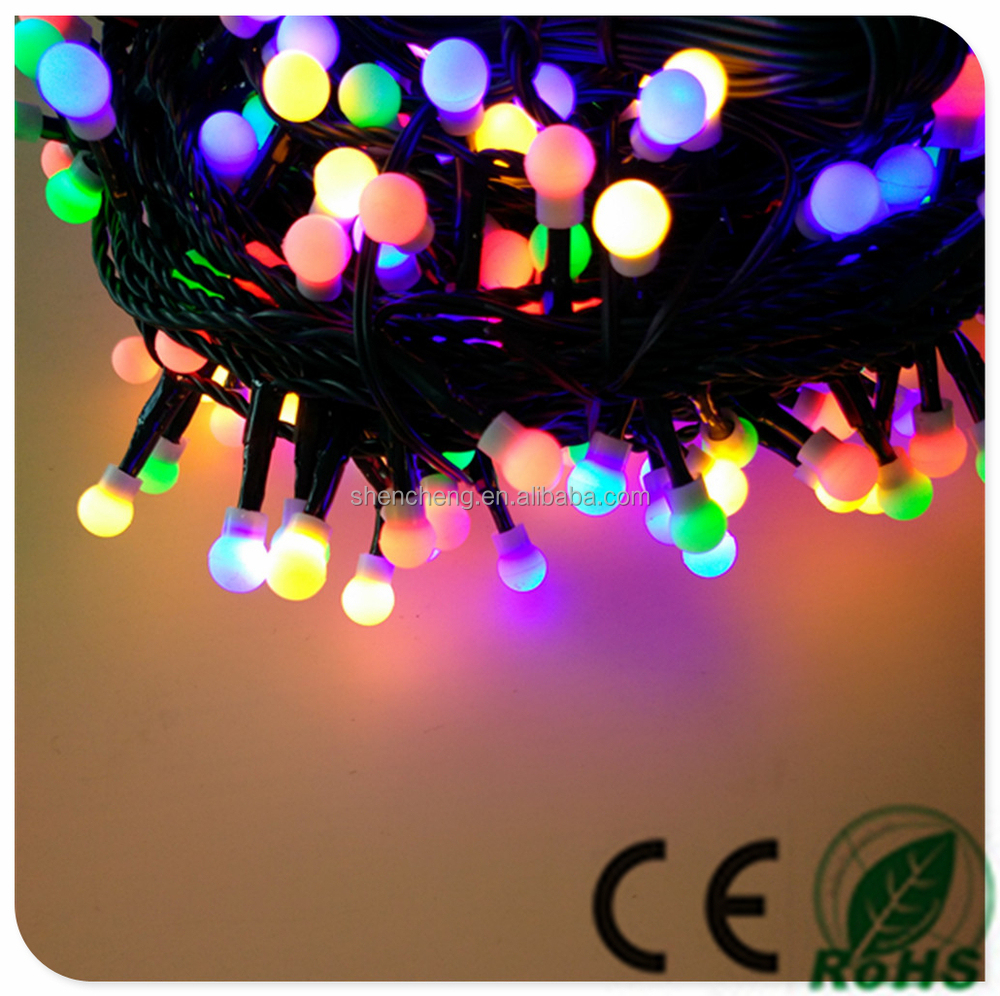 200l Led String Ball Light Multicolor With Adaptor Outdoor Use Led ...