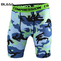 New Men's Milk Silk Breathable Short Wholesale Sublimated Compression Workout Camo Shorts