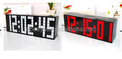 Big Led Digitale Wekker Backlight Countdown Slaapkamer Klokken ...