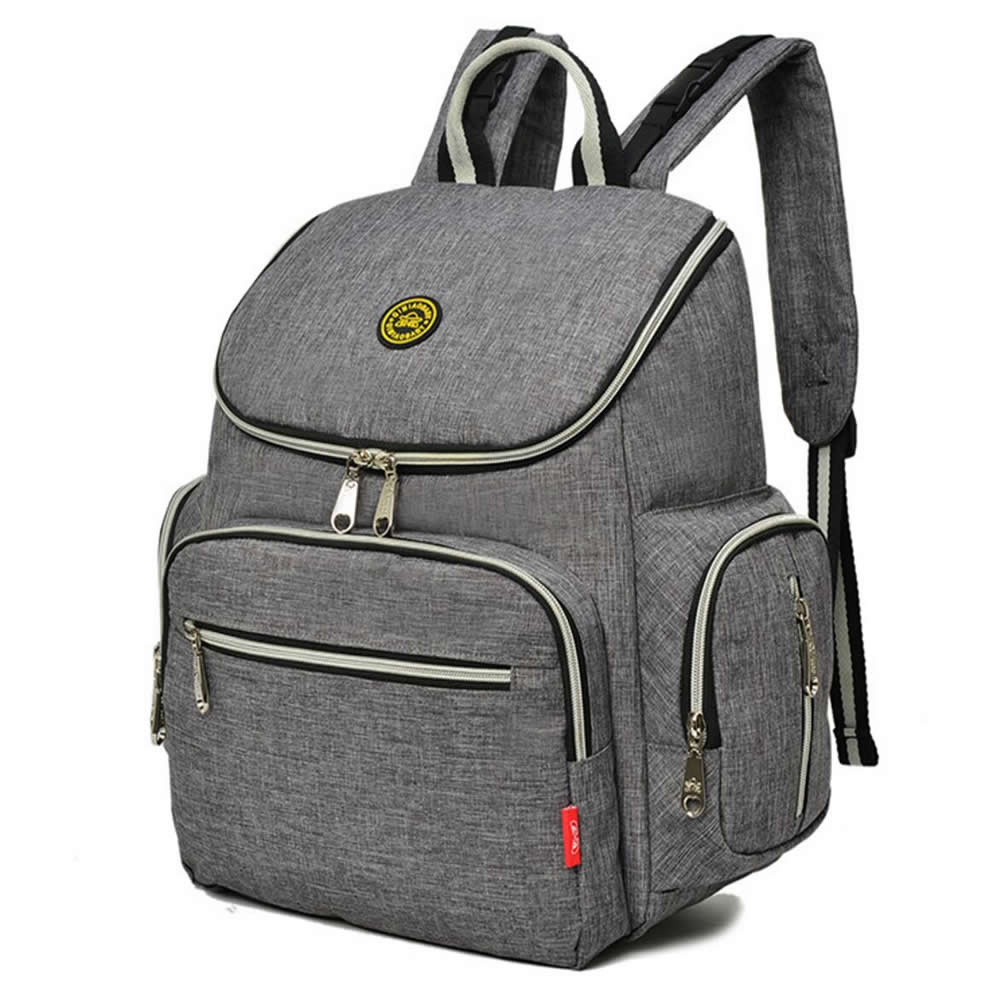 Wholesell high quality Grey carry baby Maternity Mama bag