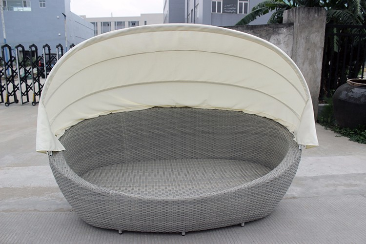 Oval Sun Bed With Canopy Rehau Rattan Outdoor Sofa Bed Buy Outdoor Sofa Bed Outdoor Sofa Bed Outdoor Sofa Bed Product On Alibaba Com