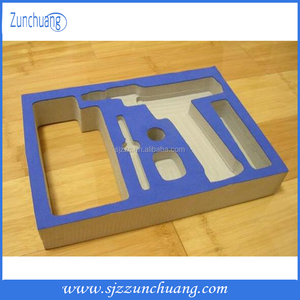 EVA foam packing insert box for hardware tool/Custom High quality die cut eva packaging material foam insert