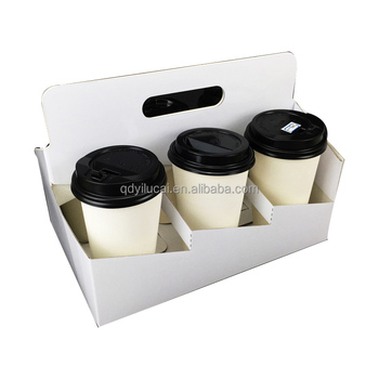 Eco Friendly Coffee Holder 4 Pack 6 Pack Carrier With