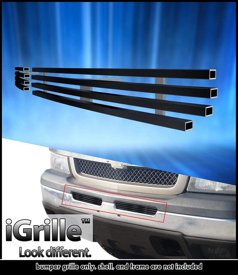 eGrille Black Stainless Billet Grille 03-06 Chevy Silverado 1500/2500 Air Dam