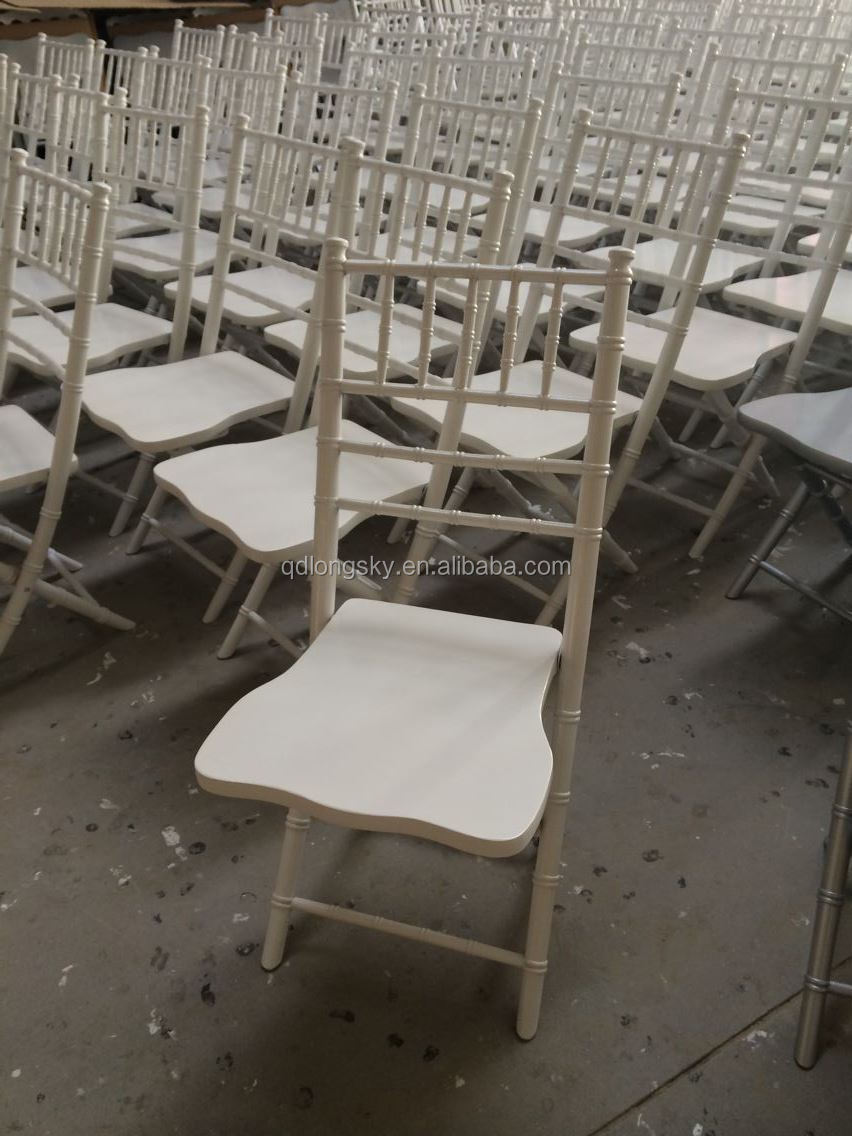 Wood And Clear Resin Chiavari Chair And Resin Napoleon