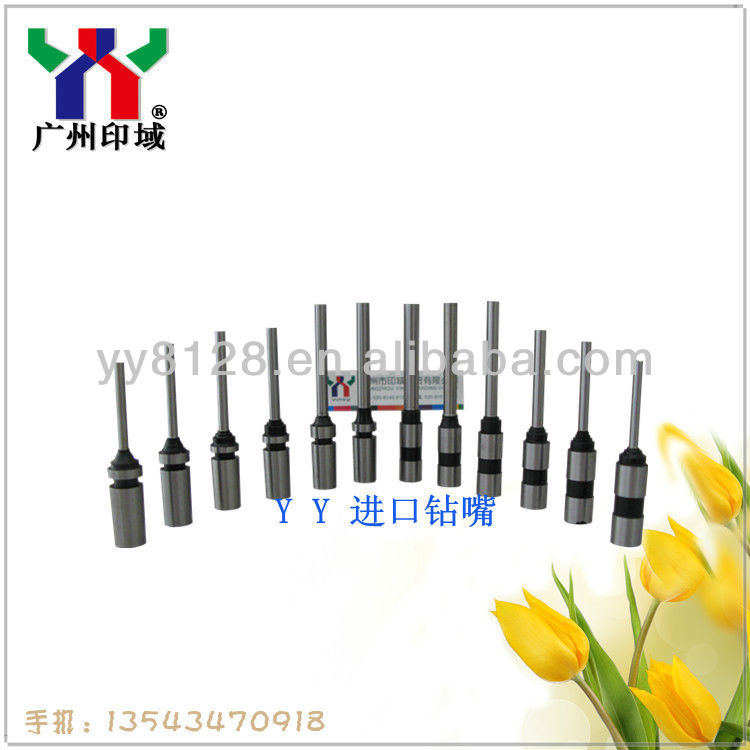 2013 Newest Drill bits , Spring die Punch, Cored Punch,for paper die making