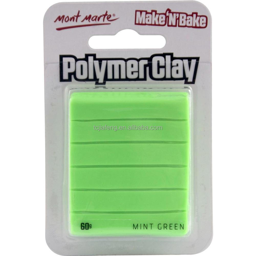 Mont Marte Make n Bake Polymer Clay - Mint Green