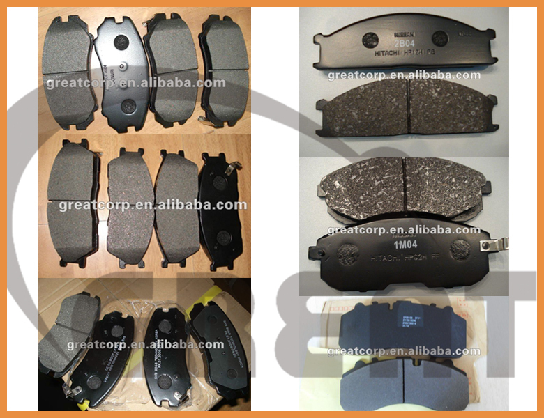 D2183 Auto Brake Pad For Toyota,Byd,Great Wall,Geely,Faw