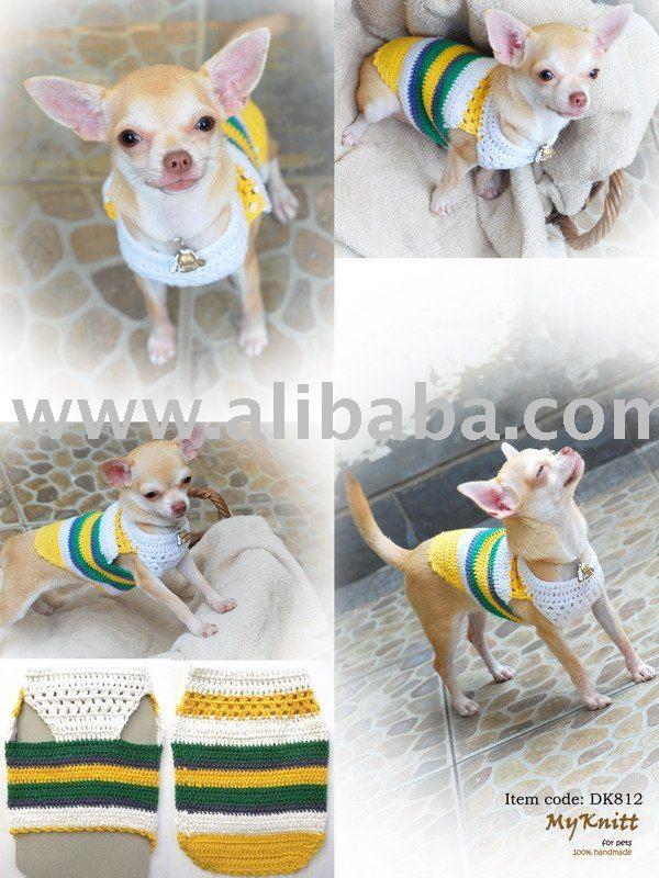 Mano De Punto De Ganchillo Ropa Para Mascotas Perro Suéter - Buy ...