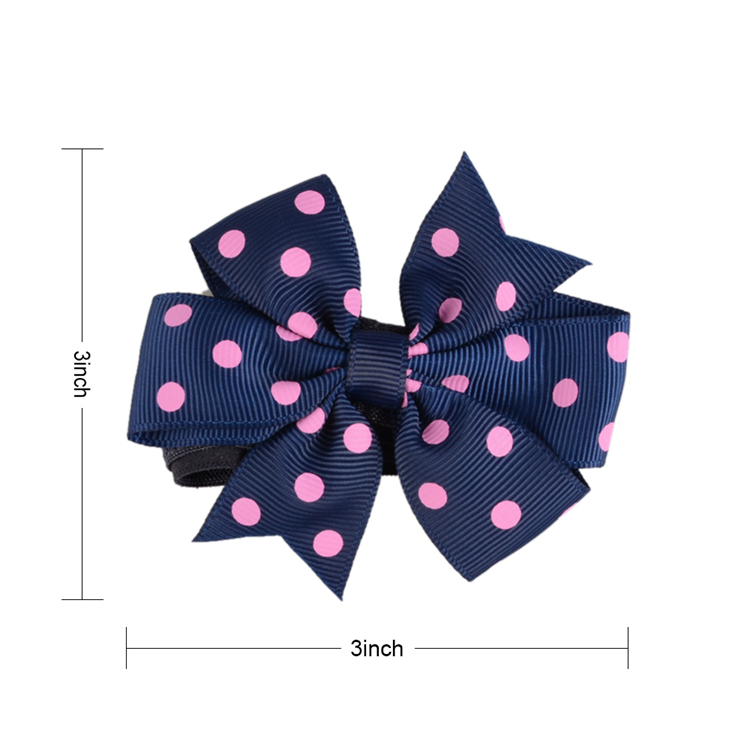 Wholesale Hot Sale Girls Baby Multicolor Hair Bows