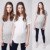 Plain No Brand T-shirt Maternity Tops Wholesale Custom Made Short Sleeve Blouses Tops Tee High Quality Plain Round Neck T-shirt