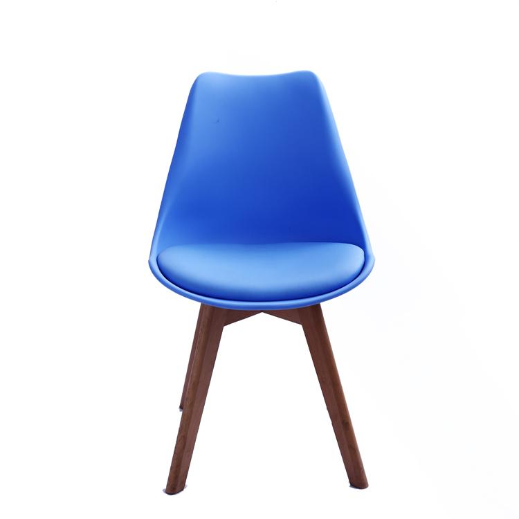Perancis Terbuka Kembali Karet Akrilik Kayu Lapis LCW Upholsterd Ruang Makan Pvc Laut Teh Plastik Out Beach Wood 2 Oak modern Sisi Kursi