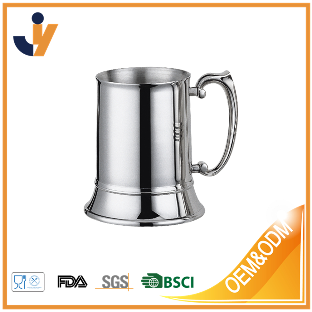 Factory price stainless steel beer mug premium beer tankard