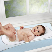 4 Thick layers washer dryer friendly baby changing pad cover set