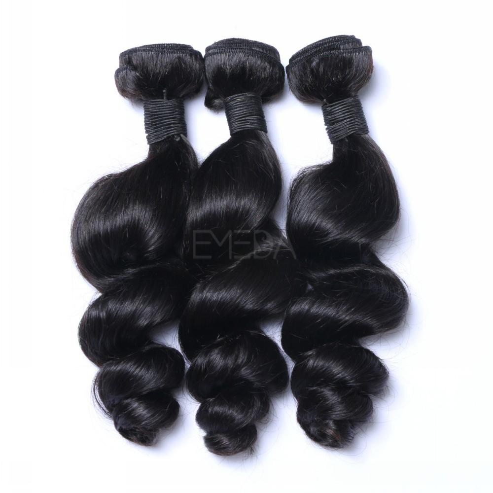 Loose Wavy Human Tasha Hair Weave In Hair Extension No Tangle No