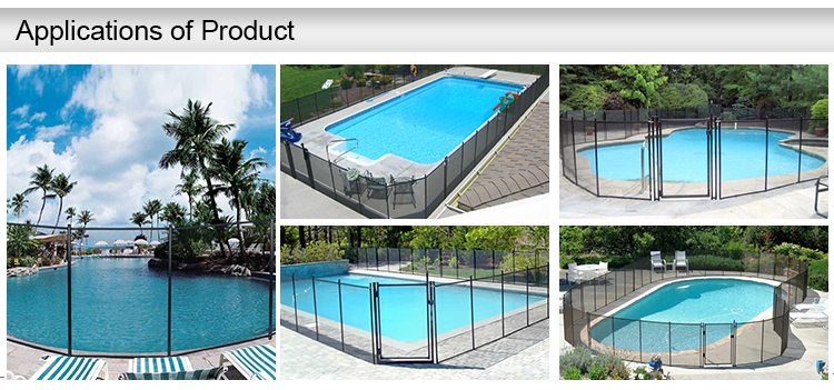 China supplier wholesale swimming pool plastic fence buy for Plexiglass pool fence
