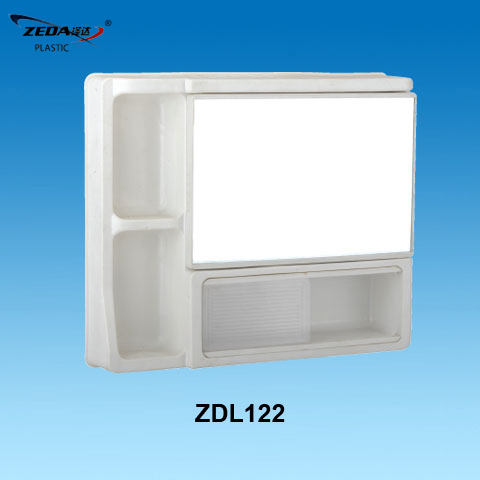 Plastic Bathroom Mirror Cabinet