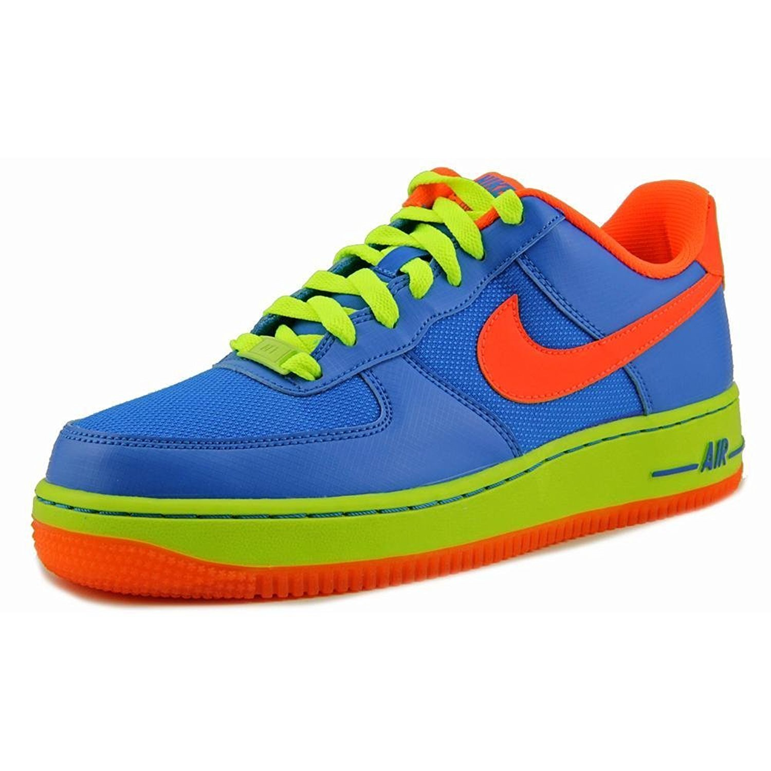 quality design 77409 5a9b0 Get Quotations · NIKE BOYS AIR FORCE ONE SNEAKER Blue - Footwear Sneakers 5Y