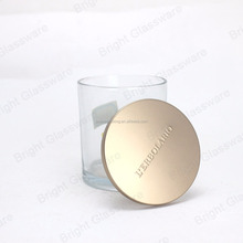China suppliers The metal cover glass bottle lid candle jar cover candle holder lid candle cup container lid