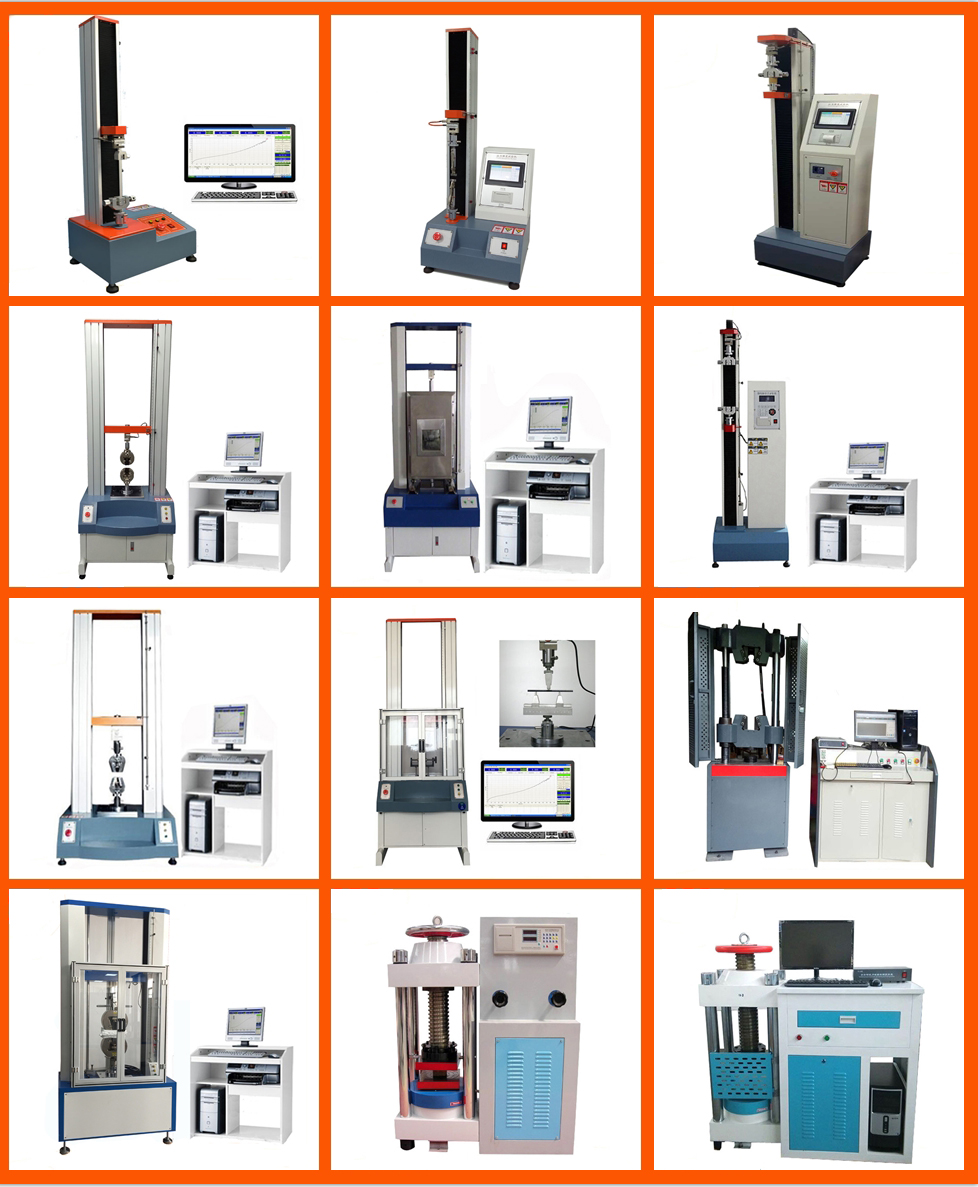 Rubber Tensile Strength Test Machine with Extensometer/Extensometer Price