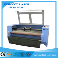Chinese supply 100W laser power PEDK-13090 Automatic gerber fabric cutting device with high precision