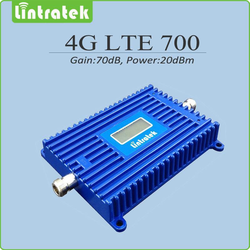 4G Signal Booster gain70dB 4G LTE 700Mhz Signal Booster Repeater LTE 700 mobile signal repeater with