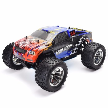 HSP 94188 RC Truck 1/10 Scale Nitro Gas Power Off Road Monster Truck 4wd
