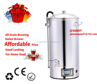 Hot selling 2018/Beer Brwing item/Guten Beer Brewer 50liter/Electric Micro Brewery/All Grain Brewing/Mash Tun BM-S500M-1