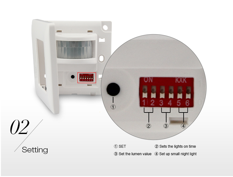 Wall Mounted Automatic Ir Motion Sensor Light Switch Mi New Wifi Led Bulb