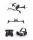 Parrot Bebop Drone 2 with Skycontroller and FPV Cockpitglasses WIFI RC GPS Quadcopter Genuine 4k FPV Drone