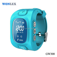 Vicky Wonlex China Best selling gps tracker watch kids tracker watch GW300 / LBS GPS Tracking smart watch for IOS
