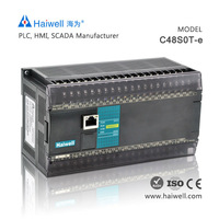 Original Haiwell C48S0T 48pionts cheap PLC controller for servo motor with best price