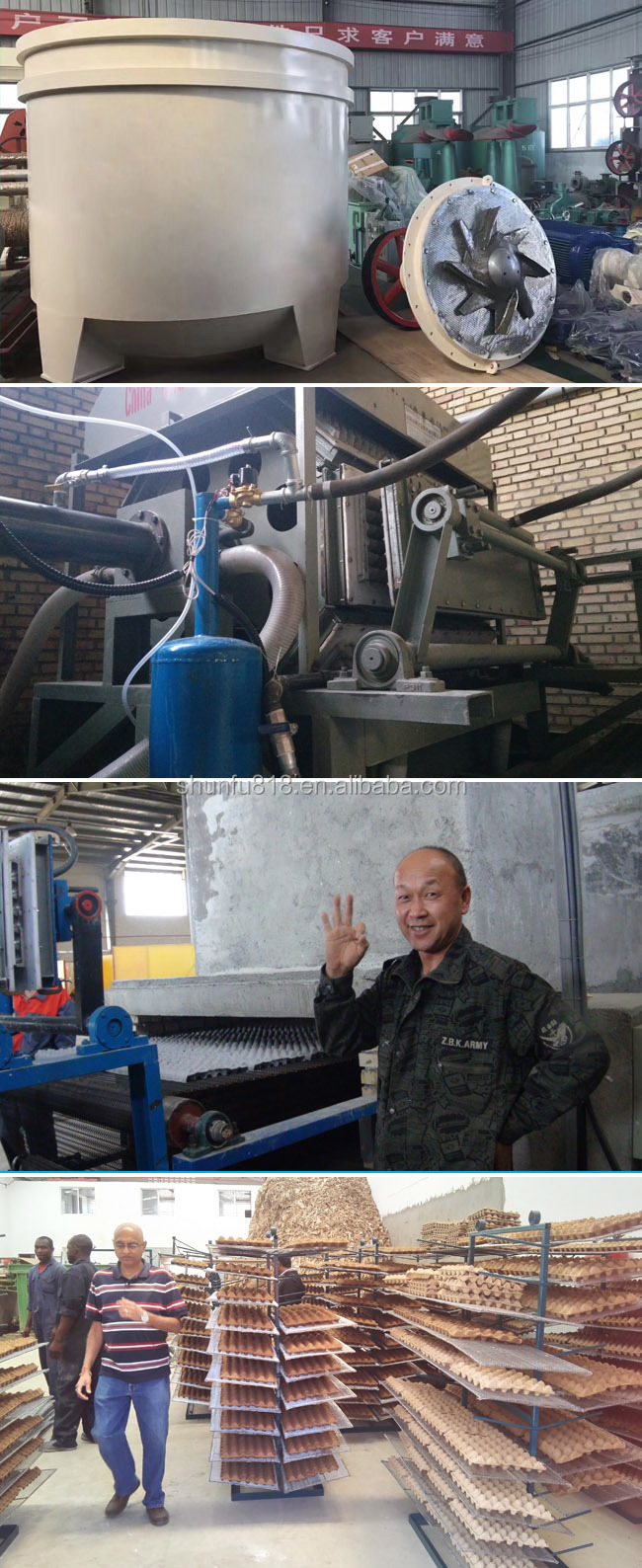 Qinyang Shunfu Paper Machine/ Paper Plate Machine List/ Egg Tray Machine Manufacturer