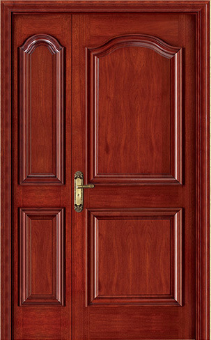 Provincial 4 Panel Primed Moulded Solid Core Wood Grain Texture Interior Doors