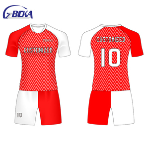 China Supplier club kids child soccer jersey france 2018 soccer jersey croatia home away