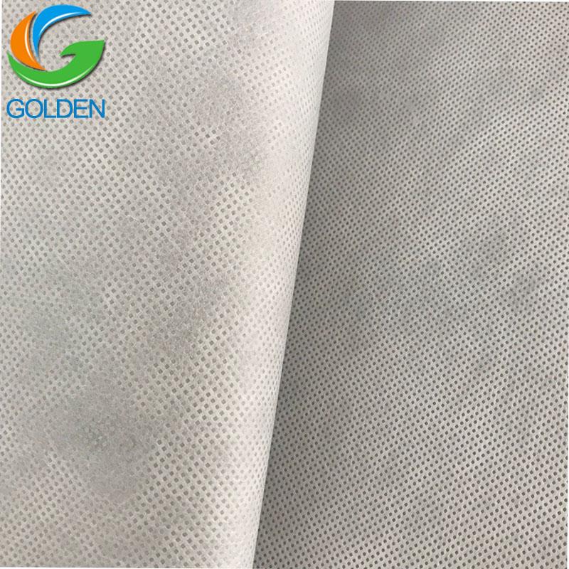 80gsm переработанный ПЭТ полиэстер Spunbond нетканые ткани для изготовления мешков