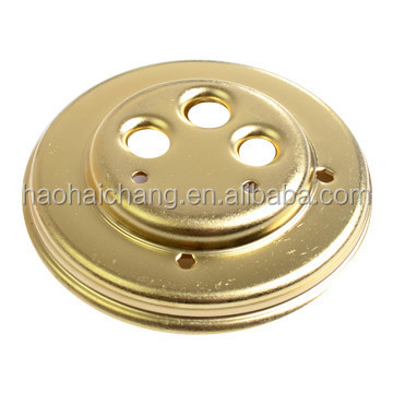 steel tongue and groove flange for PTC heating elements