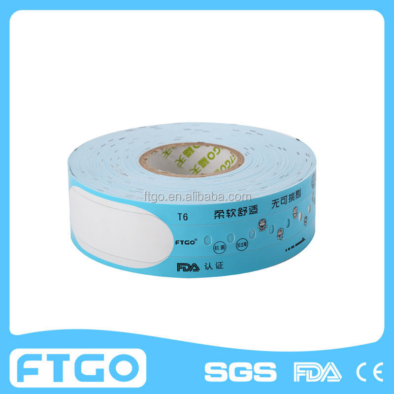 disposable medical id bands for hospital