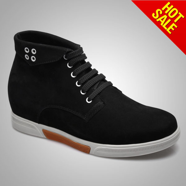 winter casual man boot / fashion style men boots / canvas shoe boots men