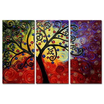 Hot Sell Handmade Nature Wall Painting Designs Buy Nature Wall Painting Designs Nature Wall Painting Nature Painting Designs Product On Alibaba Com