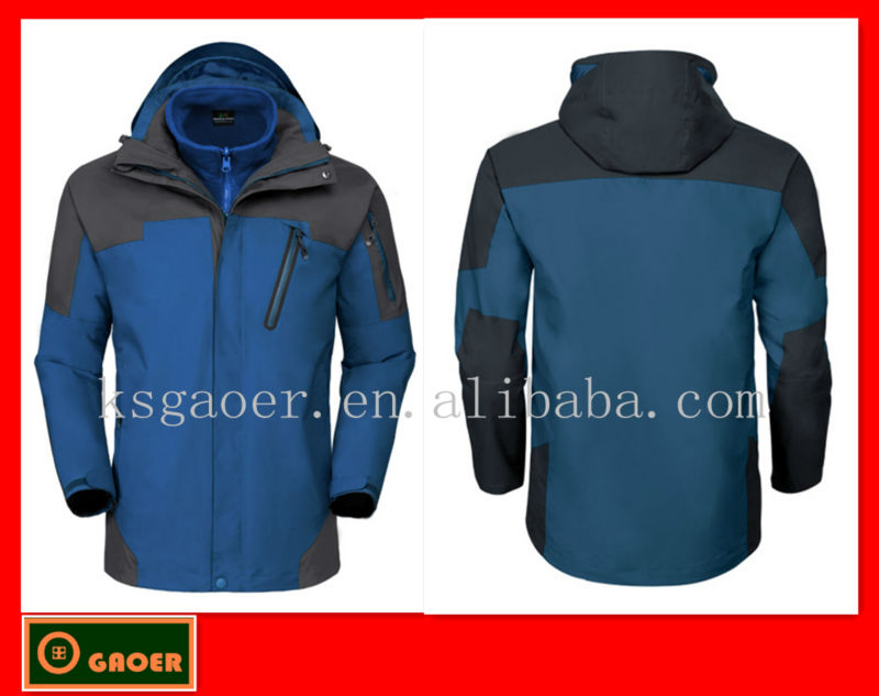 2012 Black Friday best gift mens outdoor wear design your own ski jakcet