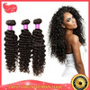 7a Unprocessed Virgin Brazilian Hair,Brazilian Deep Curly Virgin Hair Ombre Weave 3 Bundles Ombre Hair Extensions Water Weave