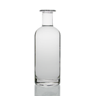 Glass Bottles Shaped Glass Bottle Cylinder Round Shape Wide Lip Extra Flint 70cl Gin 700ml Glass Bottles