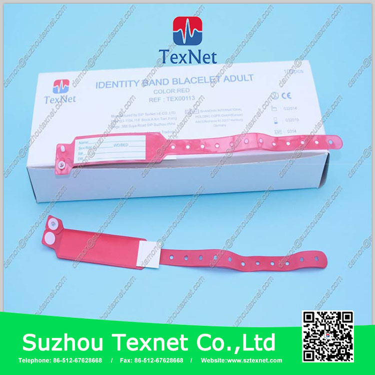 China Manufacturer Silicone Metal Plate Kids Identity Id Band
