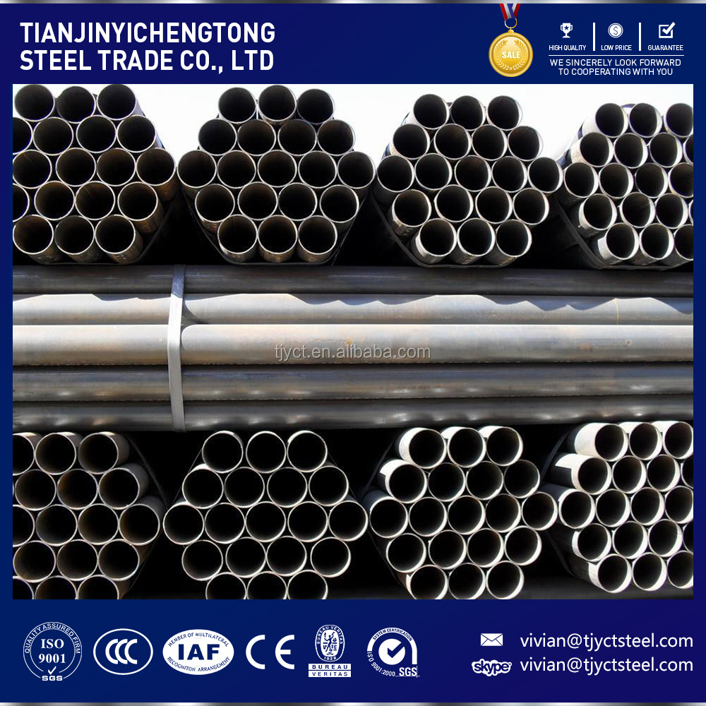 factory price sch 40 astm sa 192 boiler seamless steel tube with grooved