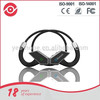 stereo neckband retractable bluetooth stereo earphone with microphone