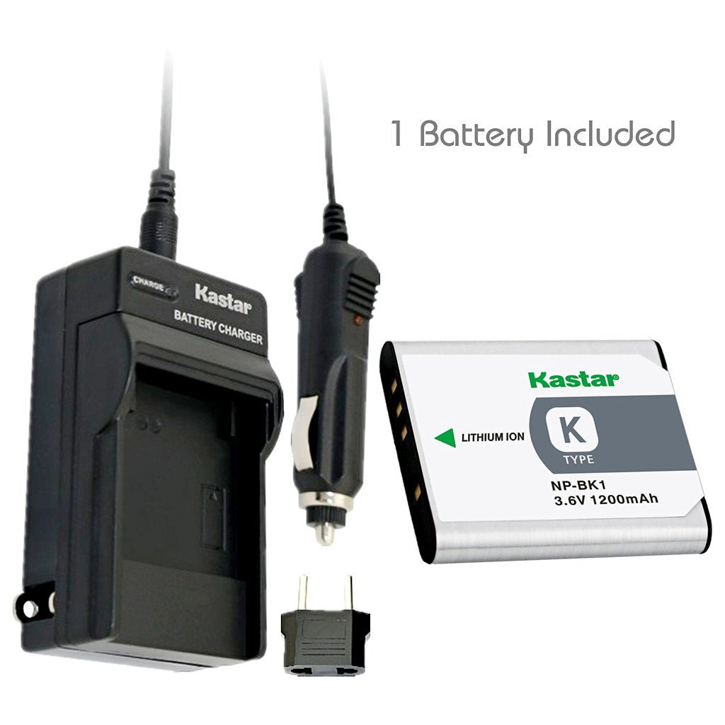 Get Quotations · Kastar Battery (1-Pack) and Charger Kit for Sony NP-BK1,