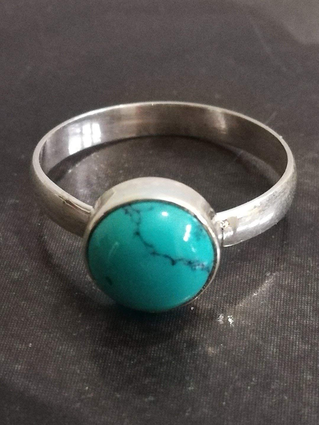 Turquoise Ring, 925 Sterling Silver, Summer Ring, Motivating Ring, Attractive Love Gift, Bridal Shower Ring, Stylish Ring, Exclusive Ring, Classy jewelry, Traditional Ring, Custom Ring, US All Size